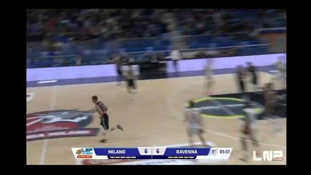 Mvp 8^ giornata Serie A2 - Nik Raivio (Urania Milano)