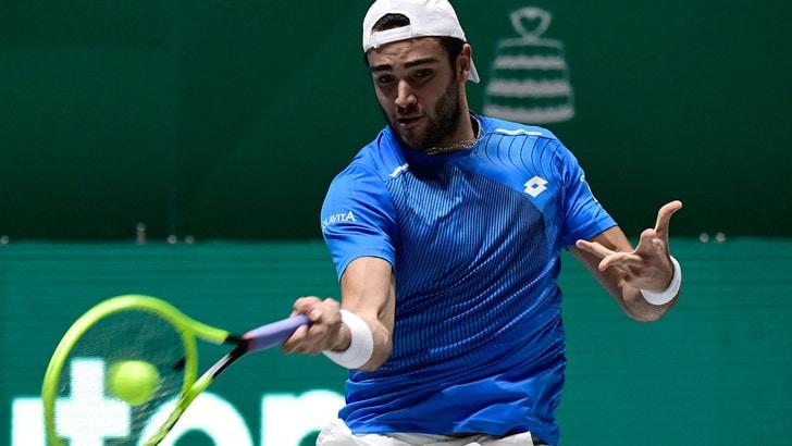 Coppa Davis, Berrettini sconfitto da Shapovalov