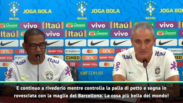 """Tite: """"Rivaldo su Paqueta? Ricordo le sue rovesciate..."""""""