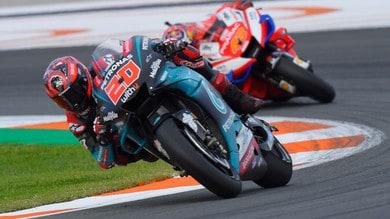 MotoGp, test a Valencia: Quartararo comanda, Rossi ottavo