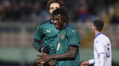 Italia U21-Armenia 6-0: doppietta di Kean nella goleada azzurra