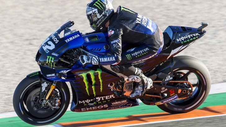 MotoGp, test a Valencia: comanda Viñales, nono posto per Rossi
