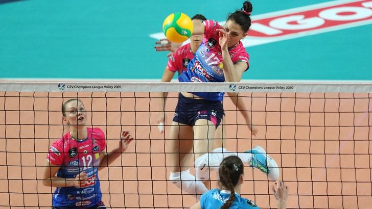Champions Femminile, per Novara esordio a senso unico contro lo Yuzhny