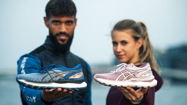In arrivo la scarpa da running più confortevole di sempre, Asics Gel Nimbus 22