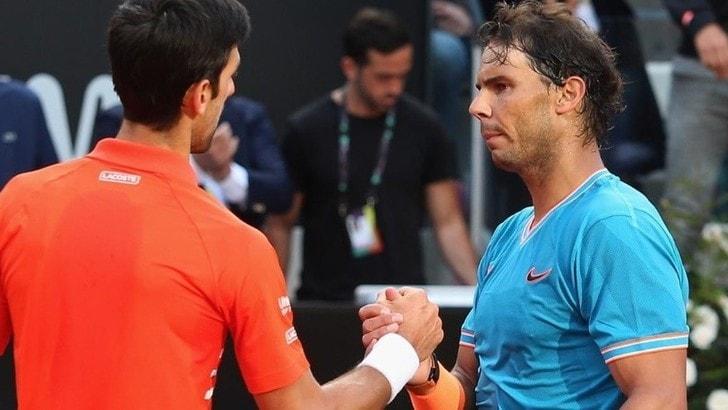 Djokovic e Nadal: