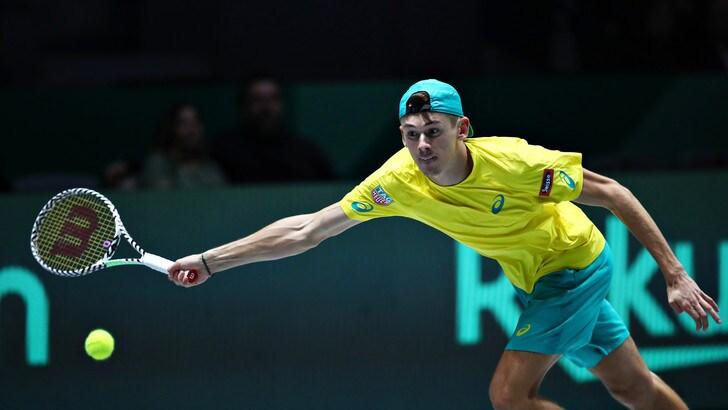 Coppa Davis, Shapovalov ko: De Minaur tiene a galla l'Australia