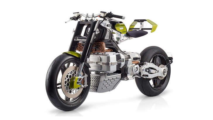 BST Hypertek: ecco la moto elettrica di Terblanche