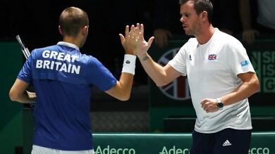 Coppa Davis, la Gran Bretagna in semifinale: battuta la Germania