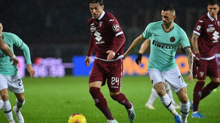 Torino-Inter 0-3, il tabellino