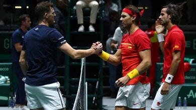 Nadal show: la Spagna raggiunge il Canada in finale di Coppa Davis