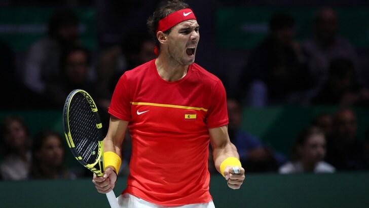 Coppa Davis, trionfo Spagna: Nadal decisivo, Canada ko in finale