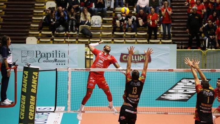 Superlega, Civitanova suona la nona, Modena batte Trento