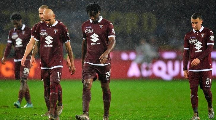 Torino,terz'ultimo nelle ultime undici giornate: adesso rischia la serie B
