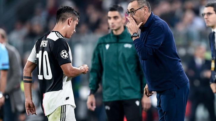 """Juve, Dybala: """"Con Sarri noi attaccanti ci divertiamo di più"""""""
