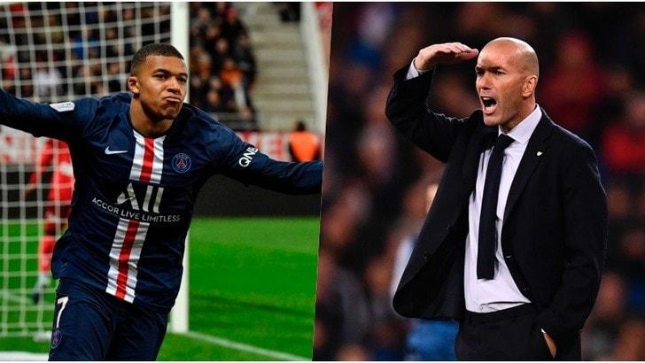 Real Madrid, Zidane chiama Mbappé: