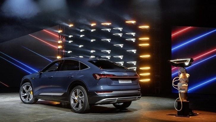 Audi e-tron Sportback, ecco la suv-coupé elettrica