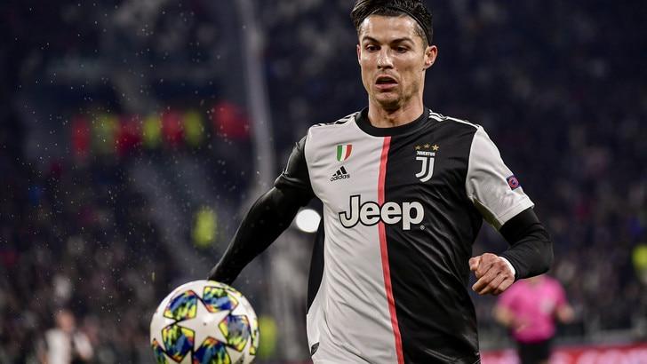 Juve, Cristiano Ronaldo esulta:
