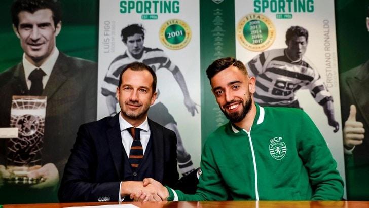 Bruno Fernandes blindato dallo Sporting Lisbona: clausola rescissoria da 100 milioni di euro
