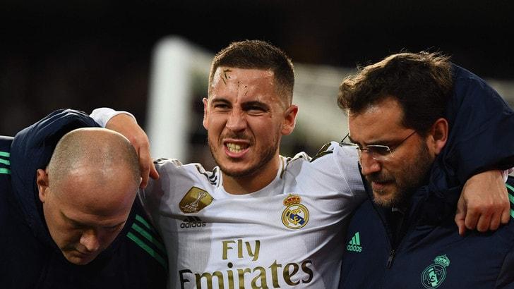 Hazard, esclusa frattura. A rischio Barcellona-Real Madrid