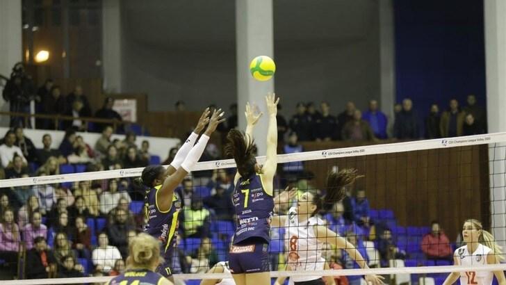 Champions Femminile,Conegliano travolge a domicilio l'Alba Blaj