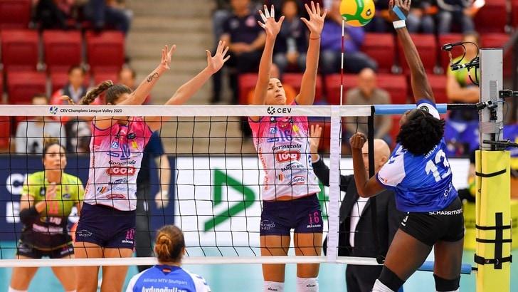 Champions Femminile, Novara cade malamente a Stoccarda