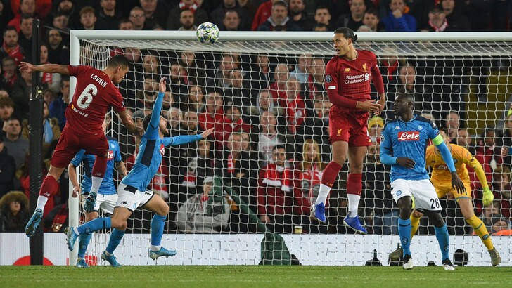 Liverpool-Napoli 1-1: illusione Mertens, rimonta Lovren