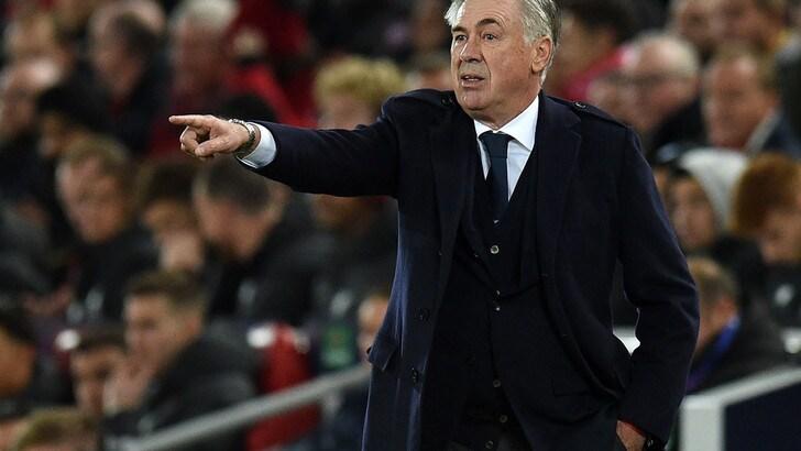 """Napoli, Ancelotti: """"Un pari che aiuta. De Laurentiis? Il disgelo c'è già…"""""""