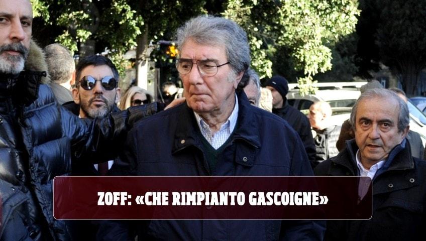"""Zoff: """"Gascoigne il rimpianto più grande della carriera"""""""