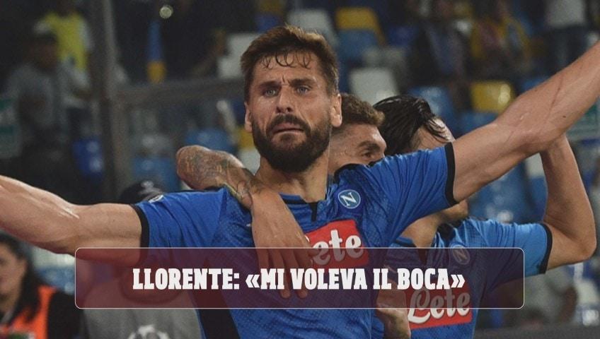 """Napoli, Llorente confessa: """"Mi voleva il Boca"""""""