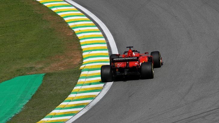 Gp Abu Dhabi: botto per Vettel nelle libere, danni alle sospensioni