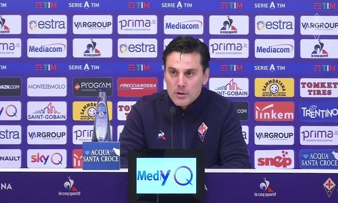 "Montella: ""Chiesa valore assoluto per Fiorentina"""