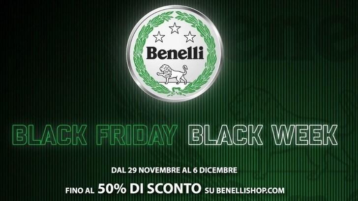 Benelli Black Friday, ecco sconti e promozioni del Leoncino