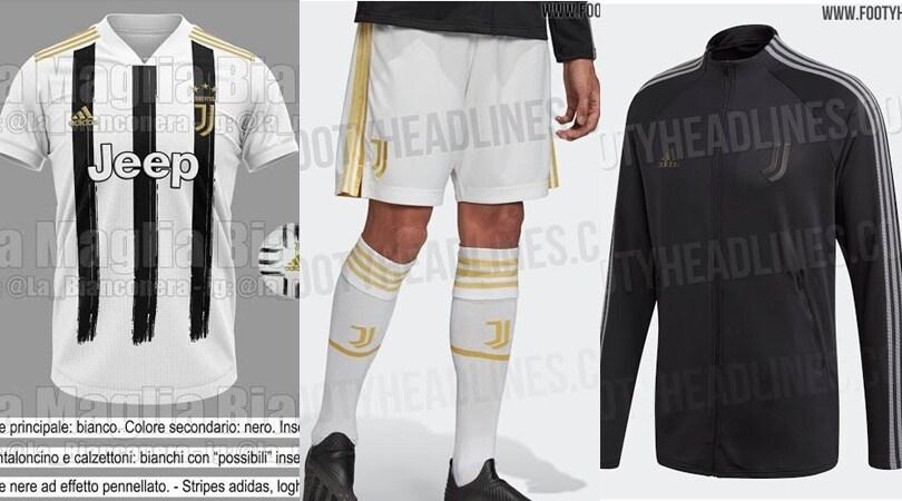 Juve, maglia e pantaloncini. Ecco il kit 2020-21