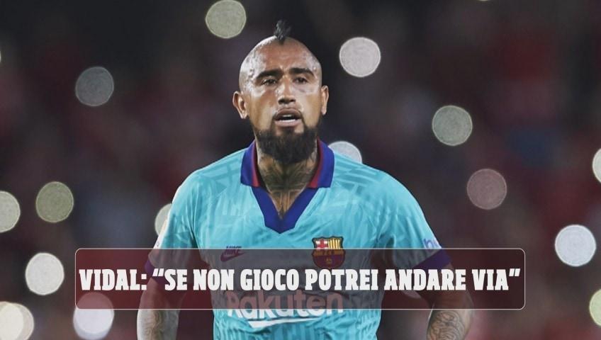 """Barcellona, Vidal: """"Se non gioco potrei andare via"""". Inter in agguato"""