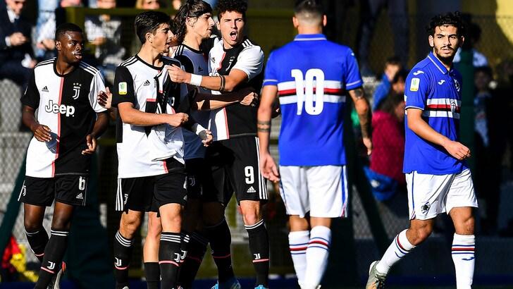 Primavera, la Juve non si ferma più: 0-2 in casa della Sampdoria