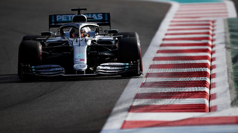 """Gp Abu Dhabi, Hamilton: """"Ci ho messo tanto a tornare in pole"""""""