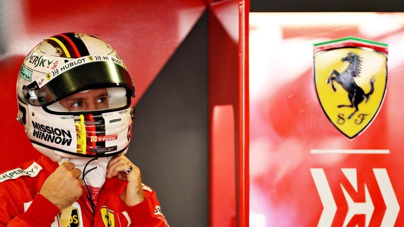 """Ferrari, Vettel: """"Comportamento di Albon scorretto"""""""
