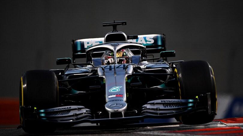 Gp Abu Dhabi: trionfo di Hamilton, Verstappen precede Leclerc