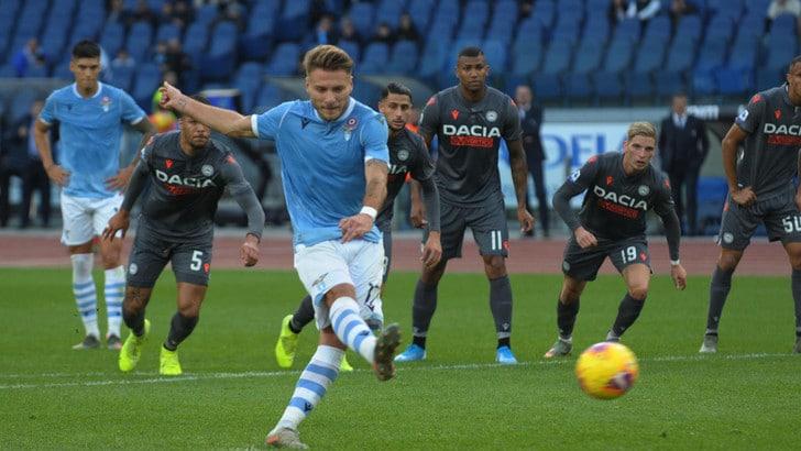 Lazio-Udinese 3-0, il tabellino