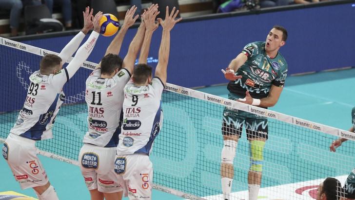 Superlega, Perugia espugna la BLM Arena, Modena passa a Monza