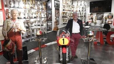 Giacomo Agostini, il museo con trofei e cimeli del campionissimo