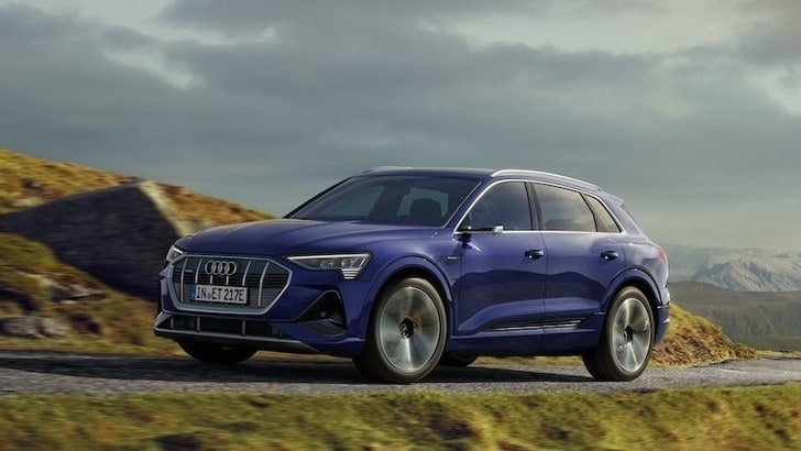 Audi e-tron 2020: up grade tecnico per il suv elettrico