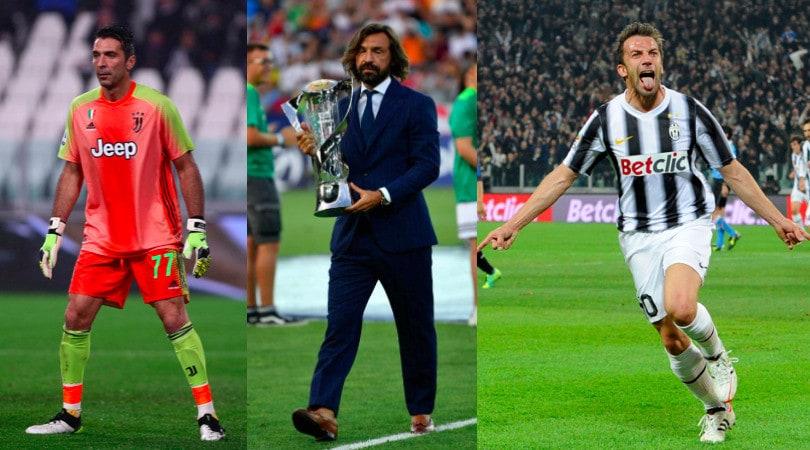 Da Buffon a Pirlo e Del Piero, 21 fenomeni senza Pallone d'Oro