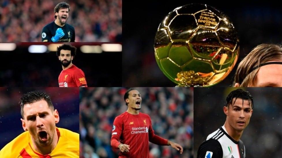 La classifica finale stilata dalla giuria di France Football per l'assegnazione del più importante riconoscimento individuale del mondo del calcio