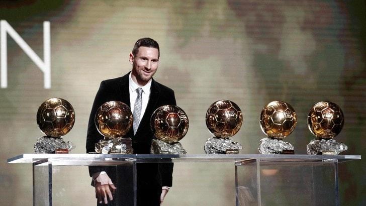 Messi vince il 6° Pallone d'Oro, Cristiano Ronaldo terzo