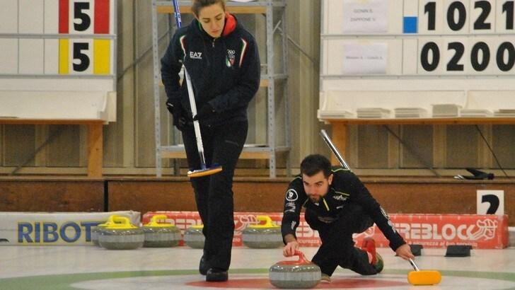 Curling, il doppio misto azzurro a caccia dei Mondiali
