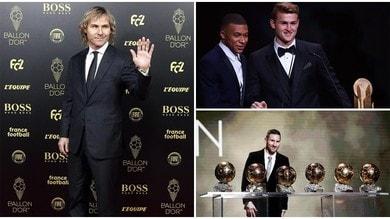 Nedved applaude De Ligt. Messi vince il 6° Pallone d'Oro