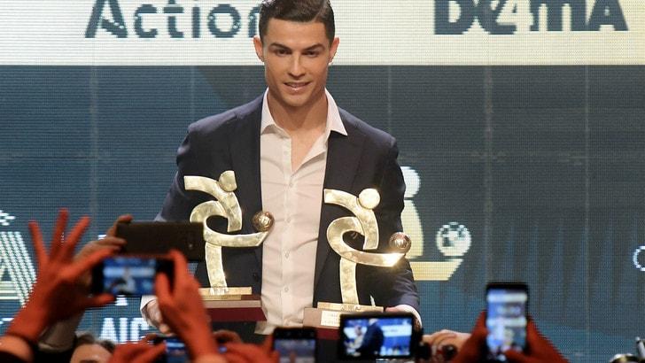 Cristiano Ronaldo eletto miglior giocatore dell'anno al Gran Galà del Calcio
