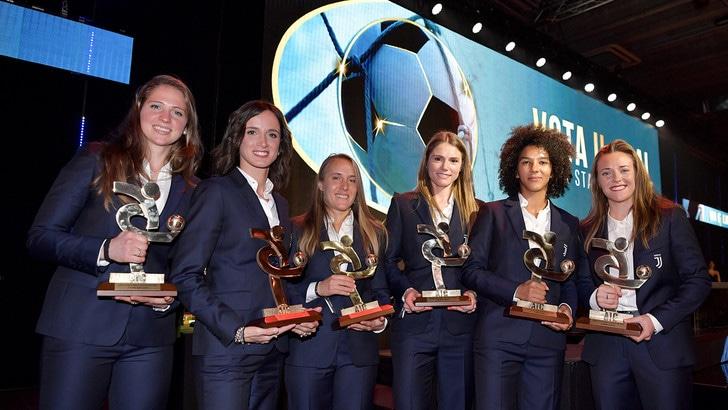 Tanta Juve nella Top11 della Serie A femminile, Pallone d'Oro a Rapinoe