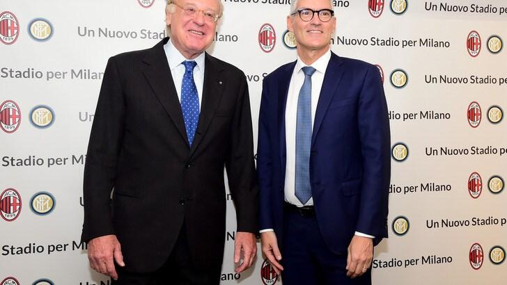 Stadio Inter e Milan, incontro con Antonello e Scaroni: